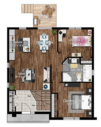 Les habitations Innovatel maisons neuves Ste-Sophie Jardins du ruisseau