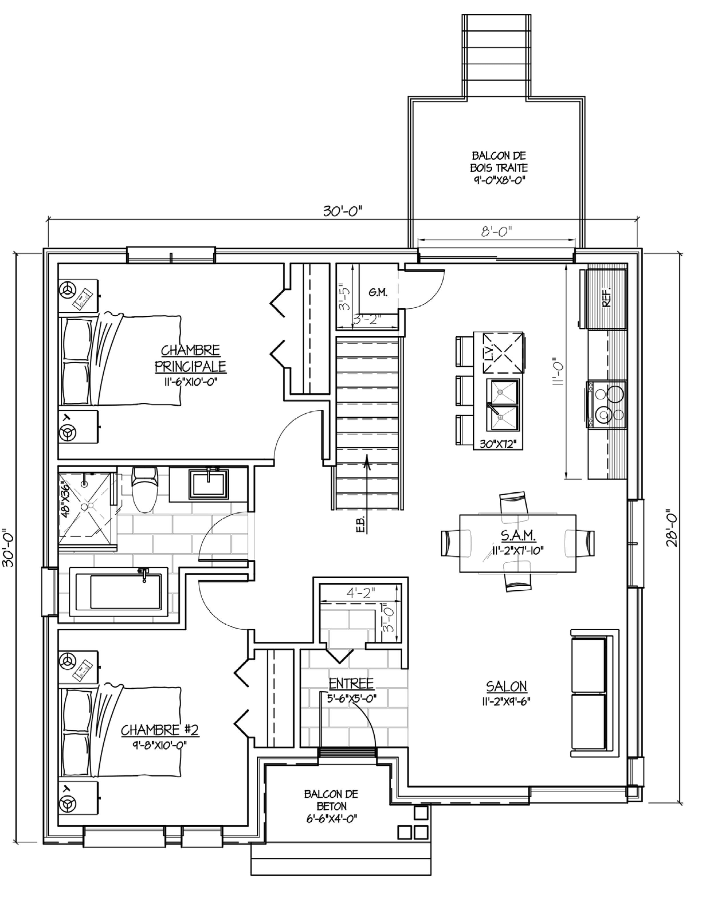 Habitations innovatel maisons neuves ste-sophie jardins du ruisseau modèle bran plans 01