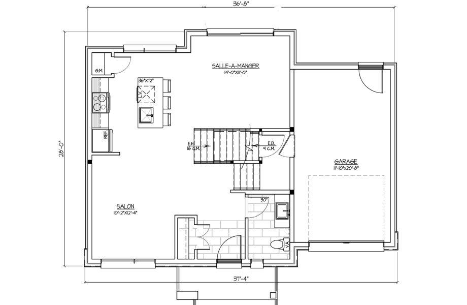 Les habitations Innovatel maisons neuves Ste-Sophie modèle St-James