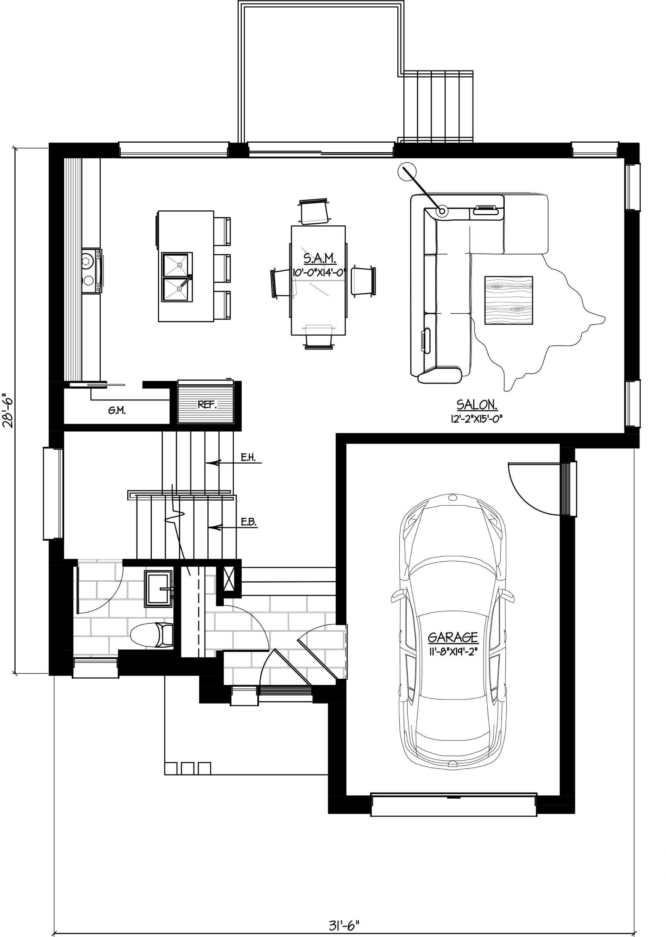 Les Habitations Innovatel maisons neuves Ste-Sophie modèle St-Martin I