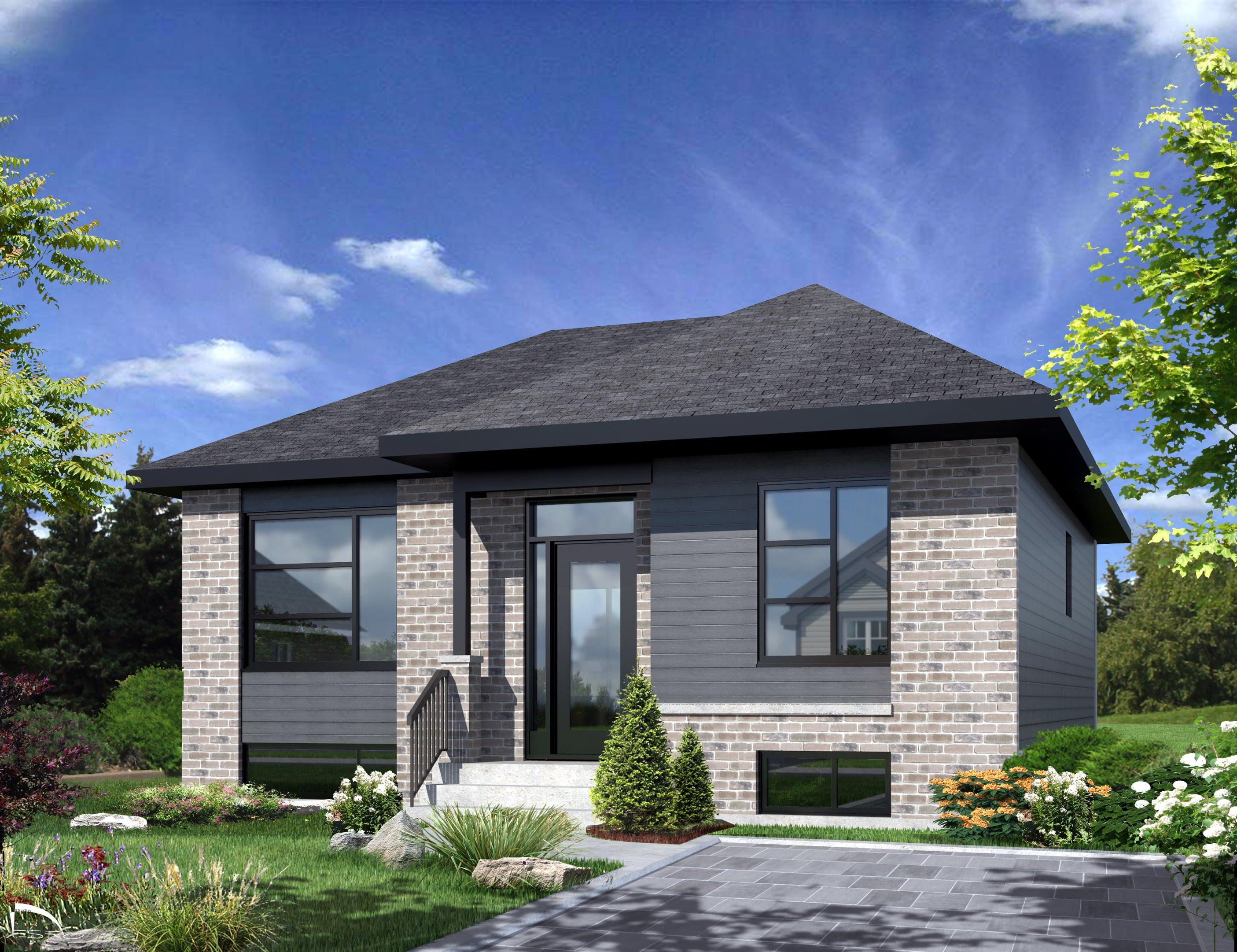 Projet de maisons neuves ste sophie mod le madrid les for Maison neuve projet