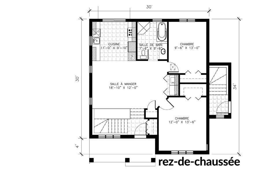 Maisons neuves Ste-Sophie Buckingham