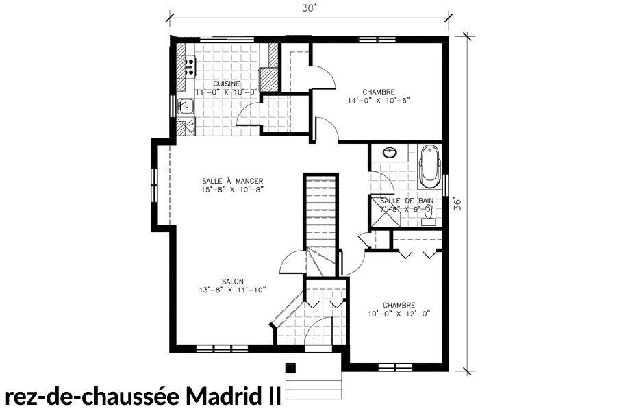 Maisons neuves Ste-Sophie Madrid