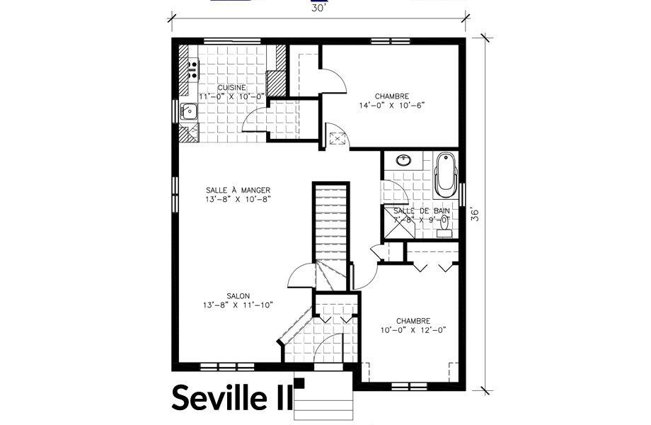 Maisons neuves Ste-Sophie Seville