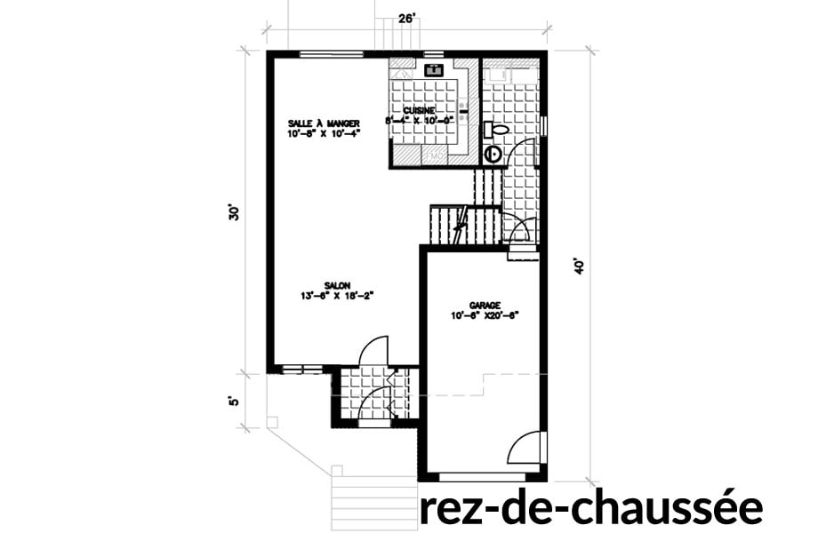Maisons neuves Ste-Sophie St-Louis