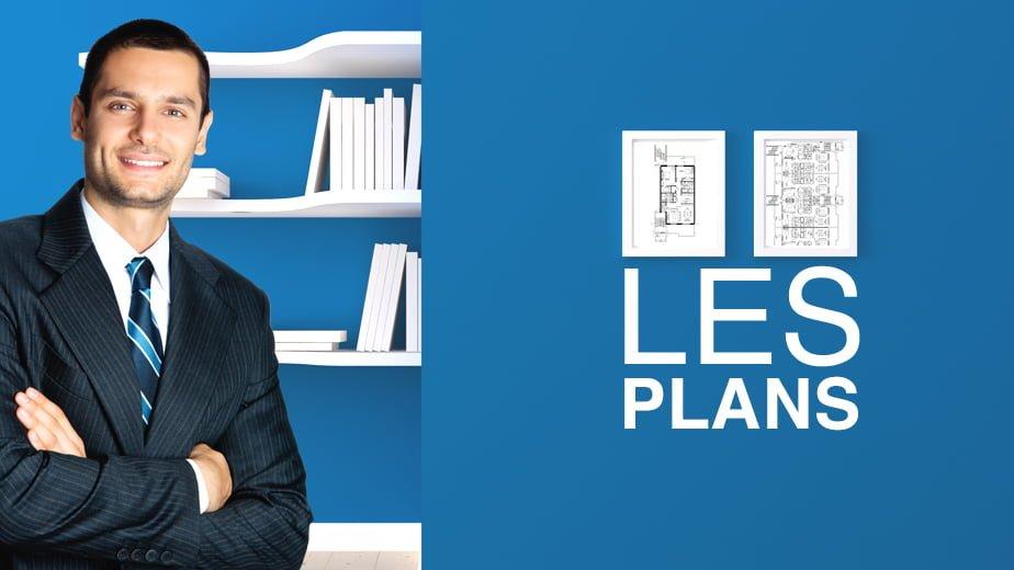 Les plans des condos neufs Les Quatres à Blainville