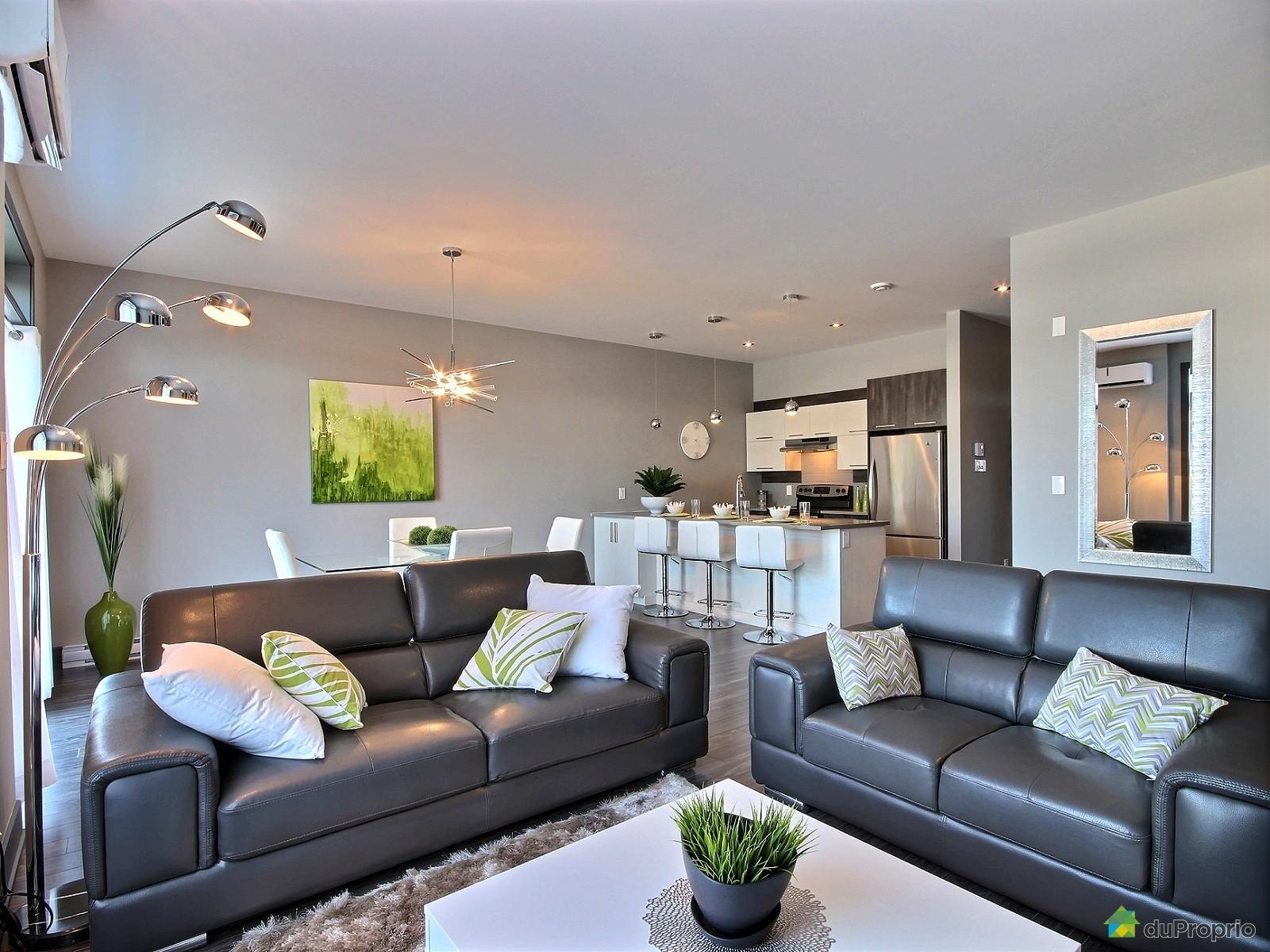 Les habitations Innovatel condos neufs les Quatre à Blainville