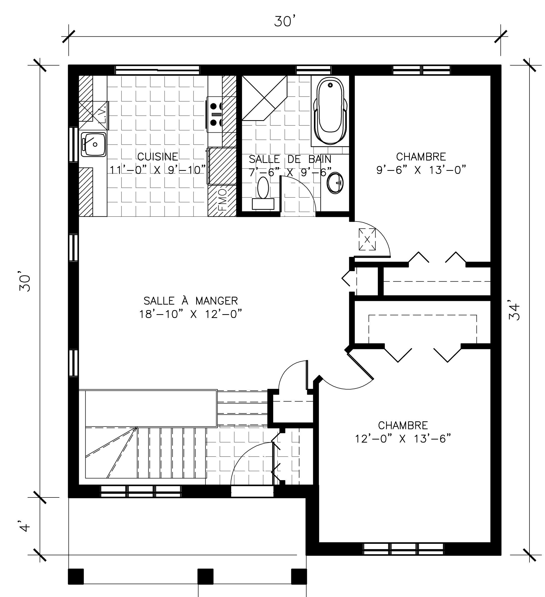 Projet de maisons neuves à Ste-Sophie Modèle VIENNES