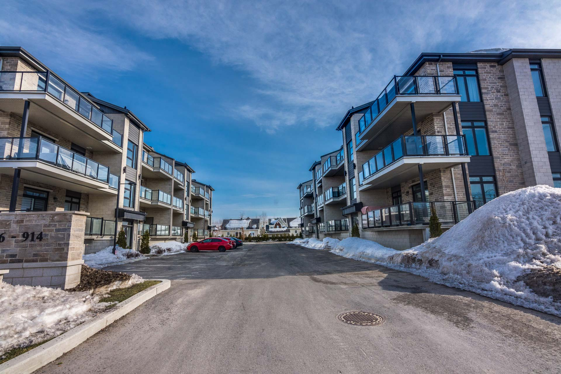 New condominiums Blainville - Les Quatres Phase 2